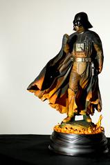 12796 - Dark Anger (Diego Rosato) Tags: statue dark star nikon force action side gimp darth forza figure wars vader guerre stellari statua oscuro fener lato d700