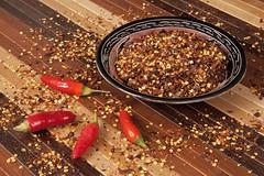 Peperoncino 5 (/claudiolanzi1982) Tags: peperoncino scoville ardore spezia bamb condimento piccante ciotola bruciore stuoia