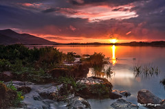 Muckross Sunset (mangan.denis) Tags: park ireland sunset sky lake nature beautiful nationalpark warm vibrant panoramic national killarney picturesque