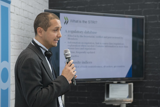 Massimo Geloso Grosso presents the OECD's STRI
