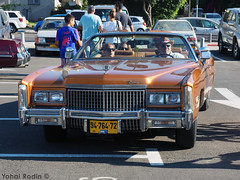 1975 Cadillac Fleetwood Eldorado Convertible (Yohai_Rodin) Tags: classic cars car club israel 5 five tel aviv tlv