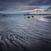 skagsanden beach - flackstad norway