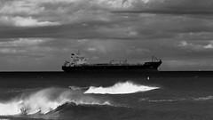 Stormy Seas (Craig Hannah) Tags: uk storm scotland boat waves ship aberdeenshire aberdeen northsea