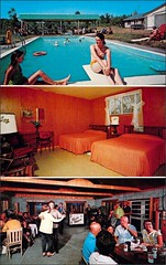 1960s Pleasant Acres Leeds New York, NY (1950sUnlimited) Tags: travel vacation vintage dance dancers kitsch roadtrips villages retro pools postcards leisure hotels 1960s roadside resorts villas motels midcentury bungalows motorlodges cocktaillounges motelrooms motorinns