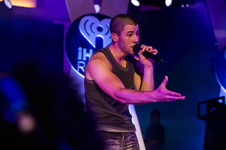 Nick Jonas performs at iHeartRadio Summer Pool Party | Photo by Andrew Swartz_for_iheartradio