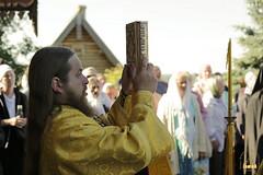 45. Patron Saint's day at All Saints Skete / Престольный праздник во Всехсвятском скиту