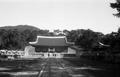 Emperor Sunjong's Tomb,Korea (heliarkorea) Tags: film asia korea xenon royaltombs kodakretinaii