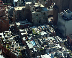 NYC Architecture_3634 Roofs (ixus960) Tags: architecture ville city mgapole nyc usa newyork