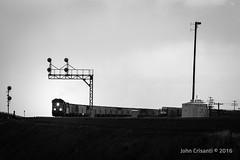 Searchlights at Hermosa (Colorado & Southern) Tags: unionpacific gees44ac emdsd70m manifest manifesttrain shermanhill hermosa trains train railfanning railroad railfan railway railroads wyoming wyomingtrains wyomingrailroads overlandroute