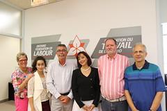 2016.07.25. - Maryam Nazemi & Family visit OFL office
