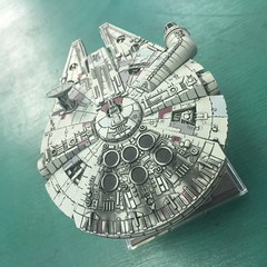 Millennium Falcon #xwing (Jos Angel Wing) Tags: xwing