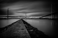 Queensferry Crossing (Fifescoob) Tags: southqueensferry portedgar bridges construction scotland fife edinburgh forth engineering canon long exposure lee filters bigstopper