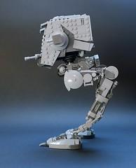 AT-ST v2.2, side view (GolPlaysWithLego) Tags: lego moc atst walker starwars