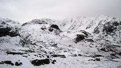 Cold Man of Coniston (RoystonVasey) Tags: canon ixus 95 cumbria lake district ldnp coniston old man snow ice cold