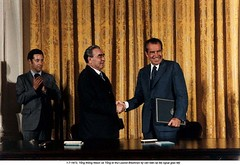 NA012747 (ngao5) Tags: people usa male history three washingtondc war european president group few american soviet northamerica prominentpersons government leader russian premier groupofpeople coldwar richardnixon diplomacy midatlantic northamerican threepeople smallgroupofpeople headofstate leonidbrezhnev governmentofficial politicalleader caucasianethnicity easterneuropeandescent easterneuropeanculture