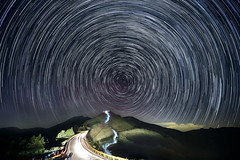 Startrails-10X2 (Cookie Chang X 小餅) Tags: 台灣 南投 合歡山 石門山 高山 山脈 山 星 星星 星空 星軌 軌跡 長曝光 長曝 夜景 風景 夜色 canon 6d 1635f4is