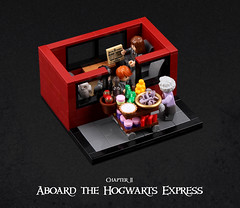 Harry Potter and the Goblet of Fire 06 (Xenomurphy) Tags: lego moc bricks harrypotter gobletoffire rowling muggle magic weasley hermione malfoy voldemort hogwarts hogsmeade slytherin hufflepuff gryffindor ravenclaw quidditch