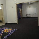 Opening connecting Volleyball and Women's Basketball locker rooms
