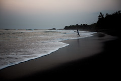 black sand.. (paul.wienerroither) Tags: bali indonesia travel photography 50mm canon beach sand ocean oceanlove sea water