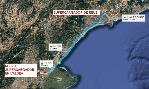 "El nuevo supercargador está a 70 kilómetros del situado en Reus <a style=""margin-left:10px; font-size:0.8em;"" href=""http://www.flickr.com/photos/128385163@N04/28215194462/"" target=""_blank"">@flickr</a>"