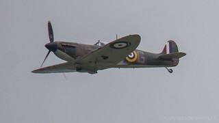 P7350   RAF BBMF   Spitfire Mk IIa