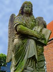 Filsumer Engel (niedersachsenfoto) Tags: engel engelke engelkes grabmal skulptur sandsteinskulptur friedhof stpauluskirche filsum ostfriesland niedersachsenfoto