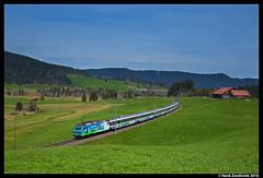 SOB 456 091, Rothenthurm 30-04-2016 (Henk Zwoferink) Tags: express bahn ost sob sud henk 456 091 rothenthurm slm voralpen zwoferink bibberbrug