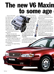1995 Nissan Maxima V6 A32 Page 2 Aussie Magazine Advertisement (Darren Marlow) Tags: 1 2 3 5 6 9 19 95 1995 a 32 a32 n nissan m maxima v v6 s sedan c car cool collectible collectors classic j jap japan japanese asian asia 90s