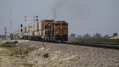 Power On! (lennycarl08) Tags: bnsf burlingtonnorthernsantafe burlingtonnorthernsantaferailroad trains railroad california eastbay centralvalley