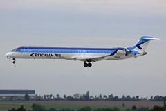 ES-ACD Estonian Airlines CRJ900 Prague 24/09/2015 (Tu154Dave) Tags: prague crj bombardier estonian crj900 prg esacd