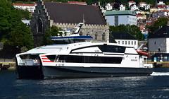 M/S NJORD (Michelsen Photography) Tags: catamaran norled njord boat norway bergen sognogfjordane hurtigbt katamaran summer sea oma speed btno bergensavisen