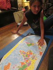 World Map Puzzle (edenpictures) Tags: jigsawpuzzle worldmap earth nations countries