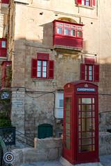 Co-ordinated (Michael N Hayes) Tags: malta valletta mediterranean europe telephonebox summer fujifilmxpro1 sea culture city