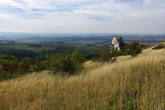 Views from Stolov hora (Gregor  Samsa) Tags: czech czechrepublic eskrepublika ceskarepublika esko cesko czechia czechland czechlands hike hiking walk walking nature scenics scenery exploration trip plava palava limestone rock view vista overlook viewpoint grass stolov hora stolovhora tabulov tabulova september meadow