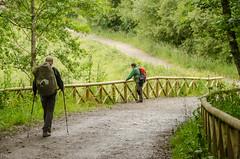 Buen Camino! (inma F) Tags: arzua caminodesantiago melide calle camino espaa galicia gente peregrino viajes pilgrim walker way