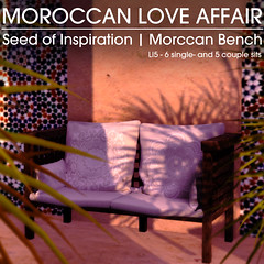 22769 ~ [bauwerk] Moroccan Love Affair Seed of Inspiration (manuel ormidale) Tags: gacha gachaevent gachagame thegachagarden tgg 22769 bauwerk moroccan indoorfurniture colorful walldrape bananatree plant pouf moroccanpouf moroccanbench chair animations moroccanbed bed gimmegacha stepchest originalmesh mesh meshfurniture lowprim lowprimdecoration