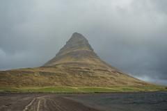 Kirkjufell 03 (sarahmonious) Tags: kirkjufell snfellsnespeninsula snfellsnes mountain churchmountain fog ringroad route1iceland route1 iceland iceland2016 traveling