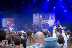 Public Service Broadcasting at Bluedot, Jodrell Bank Discovery Centre (tw332) Tags: bluedot bluedotfestival concert festival jodrellbank jodrellbankdiscoverycentre lights psb publicservicebroadcasting stagelights