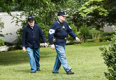Follow me, John! (Irina1010) Tags: officer civilwar reenactment roswell barrington funny men uniforms timeperiod canon