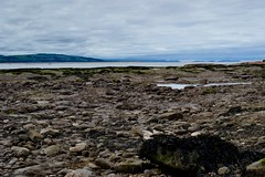 MISTY MOUNTAINS (LEALSWEE) Tags: hibre island low tide wirral peninsula beach rocks graduated filter