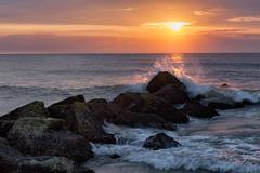 Sunrise Over The Hook (irishcarb0mbs) Tags: newjersey sandyhook sunrise beach ocean