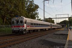 SEPTA Extra @ Woodbourne, PA (Dan A. Davis) Tags: septa aem7 pushpull train locomotive langhorne woodbourne pennsylvania pa