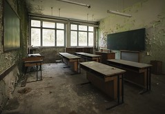 school (Captured Entropy) Tags: lostplace urbex school