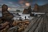 Underworld. (Marce Alvarez.) Tags: nikon nikon1635 landscape largaexposicion losurros locuos marcealvarez mar cantabria cantabrico costa costaquebrada liencres