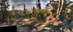 Camp en route to Sunrise Lakes (Lost in Flickrama) Tags: yosemite nationalpark hiking backpacking adventure johnmuirtrail wilderness granite rocks pinetrees california