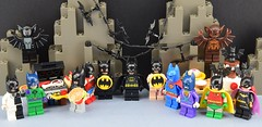 Batman day (Alex THELEGOFAN) Tags: lego legography super heroes batman minifigures minifigure minifig minifigs movie minifigurine batcave bat manbat monster alfred the butler woman wonder superman joker riddler twofaces two faces catwoman alex thelegofan rock robin batgirl meat sausage bbq barbecue hamburger hotdog cake pie batarang black