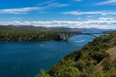 DSC03728-2 (UmitCukurel) Tags: sunset zadar croatia sea bridge sky travel ibenik ibenskokninskaupanija hr