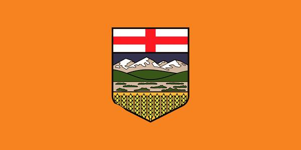 Alberta flag after NDP victory :)