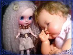 Ava Comforts Thumbelina