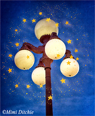 Starry Lamp Lights (Mimi Ditchie) Tags: stars lights textures getty layers lamps ornate sanluisobispo madonnainn gettyimages lamplights mimiditchie mimiditchiephotography